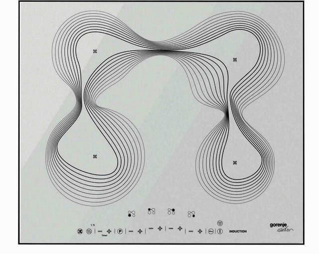 Płyta indukcyjna IT 641 KR, proj. Karim Rashid, cena 5500 zł