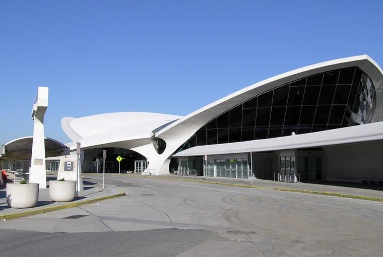 TWA Terminal na lotnisku JFK.