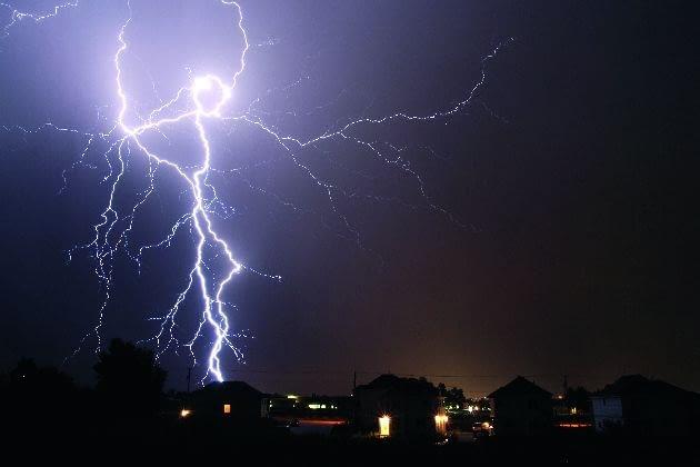 piorun, burza