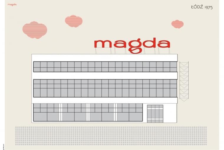 Plakat Magda