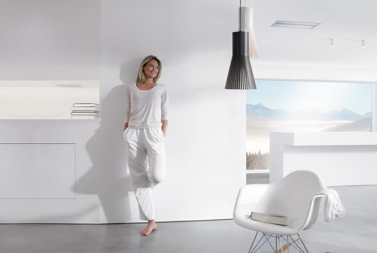System wentylacji usuwa nieprzyjemne zapachy z kuchni lub łazienki oraz likwiduje nadmiar wilgoci, zapobiegając tworzeniu się pleśni