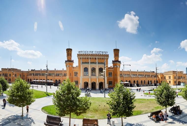 Dworzec we Wrocławiu po modernizacji