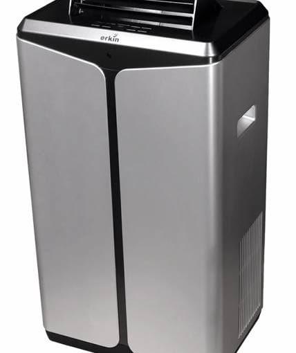 ERKIN KYR-9K <Br>Maksymalna powierzchnia pomieszczenia: 25 m2. Urządzenie ma filtr mechaniczny wyłapujący cząstki kurzu i innych zanieczyszczeń powietrza. Moc: 2,6 kW, głośność: 49 dB, cena: 2013 zł