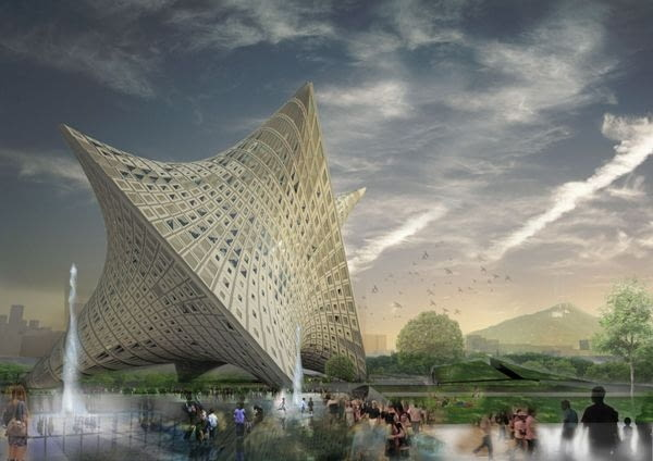 Nowe Muzeum Sztuki w Taipei, Tajwan, proj. OODA Architecture
