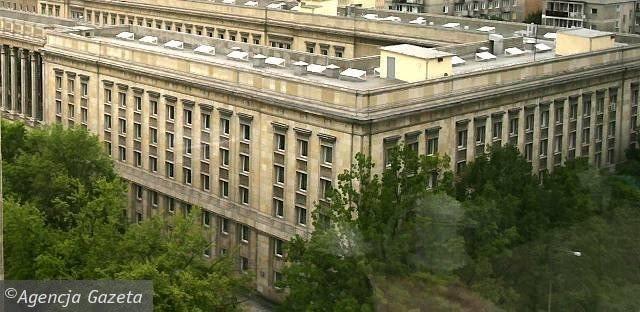 Socrealizm - architektura socrealistyczna - Ministerstwo Rolnictwa w Warszawie