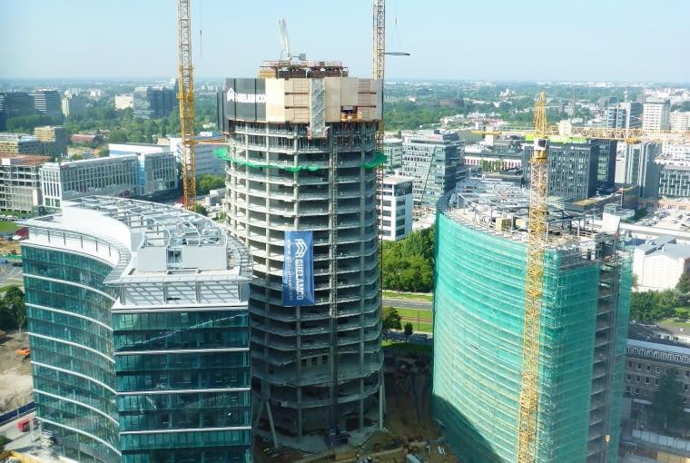 Plac Europejski powstanie u stóp wieżowca Warsaw Spire