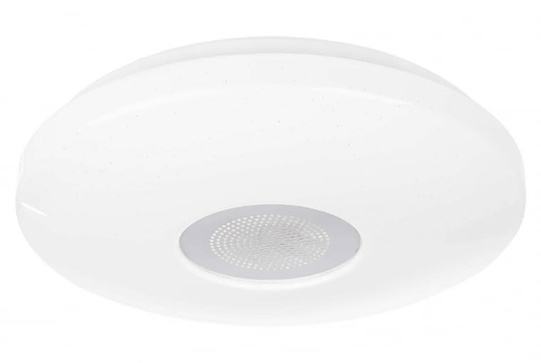 VIZZINI, plafon LED, moc 22 W, IP44, śr. 34 cm, 349 zł, Leroy Merlin