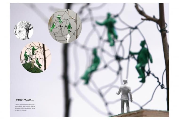 SIEKIERAUT. Prezentacja projektu: W sieci pająka