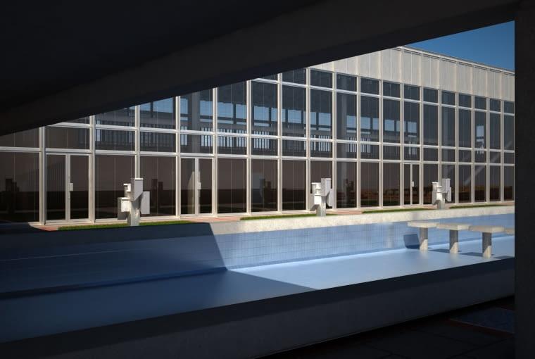 Dom Chemika - wizualizacje odnowionego budynku
