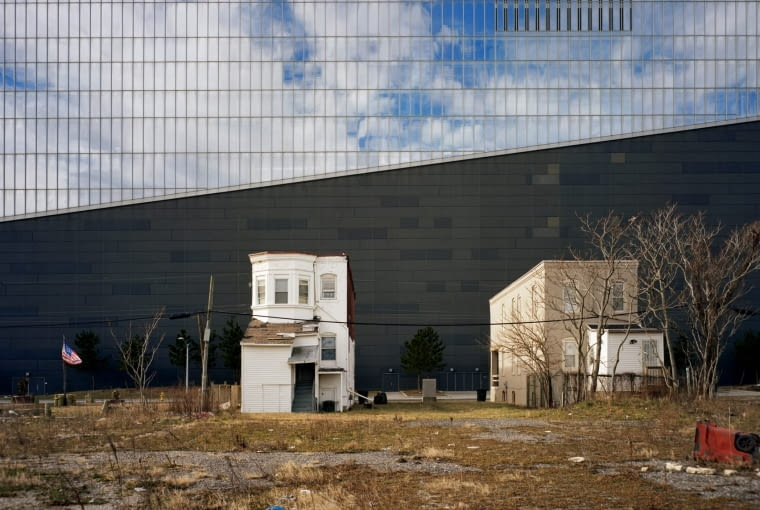 Północna ściana Revel Casino w Atlantic City w Stanach Zjednoczonych. Finalista w kategorii: Plener