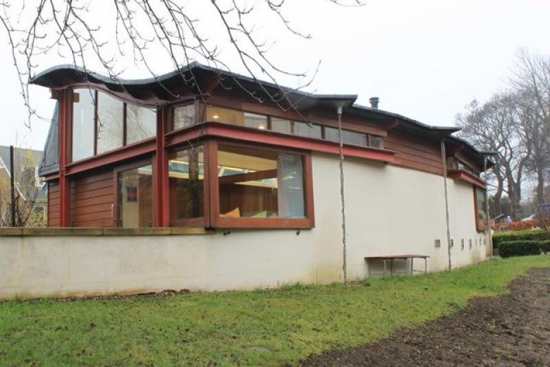 Maggie's Centre w Edynburgu. Proj. Richard Murphy
