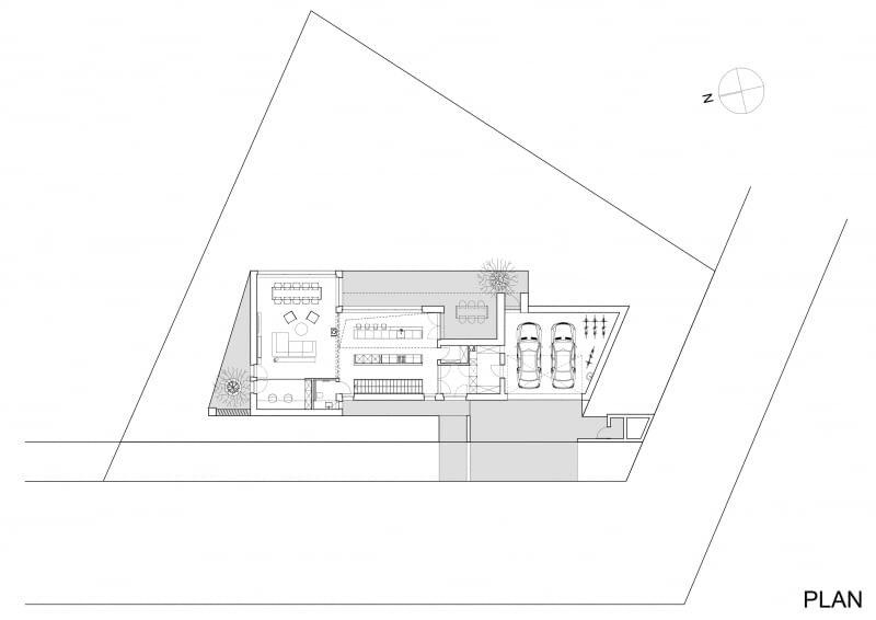 Projekt domu jednorodzinnego w typie nowoczesnej stodoły - rzut piętra