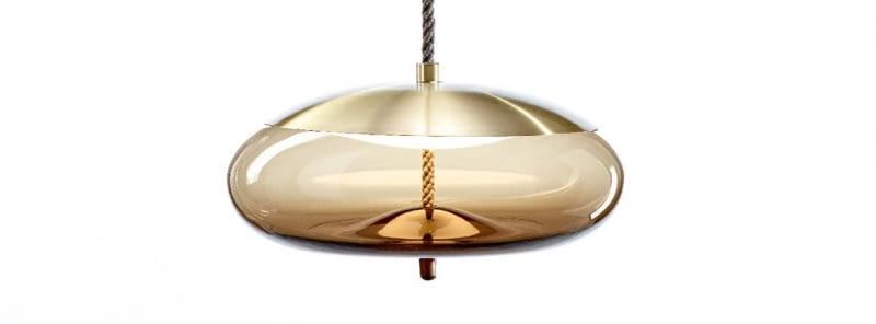 Lampa Knot, proj. Marin Chiaramonte, Brokis. www.brokis.cz