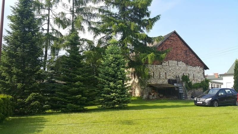 Budynek starej stodoły