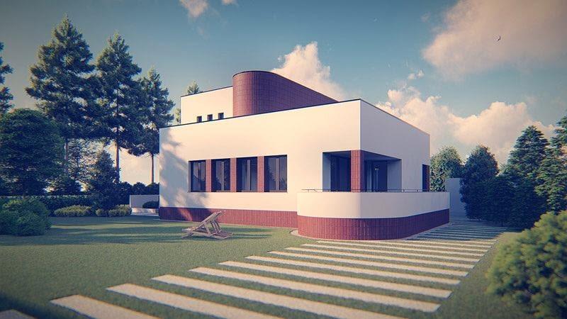 Dom w Milanówku. Proj. URBAA Urbański Architektura & Wnętrza