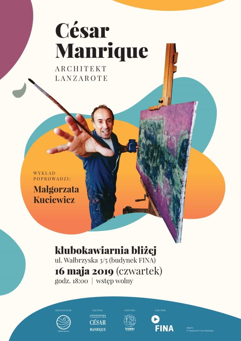 Wykład 'César Manrique - architekt Lanzarote'.