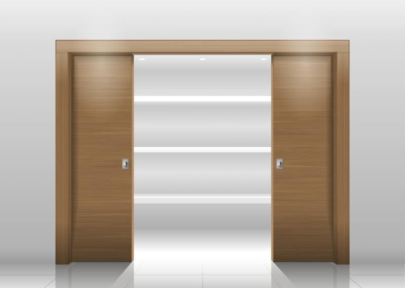 Z korzyścią dla przestrzeni. Ukryte drzwi