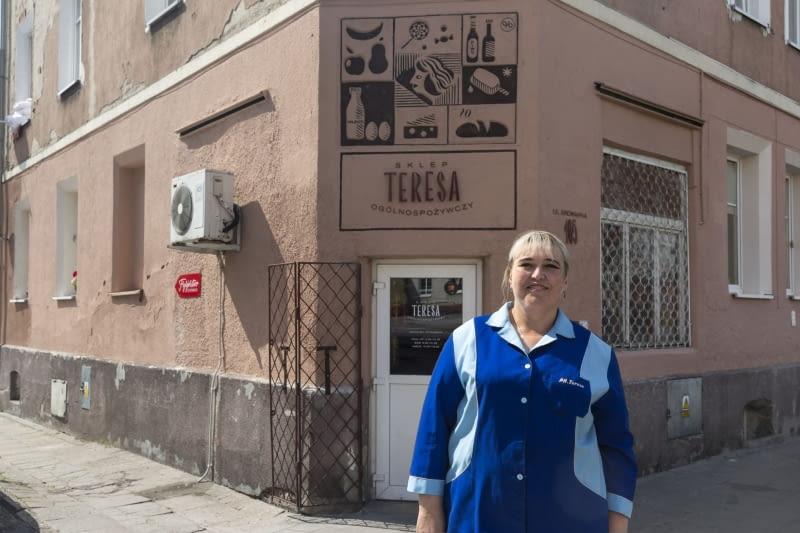 """Sklep spożywczy """"Teresa"""" w Elblągu"""