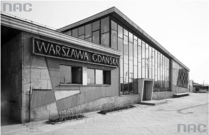 dworzec, warszawa, pkp, nac, historia, kaller