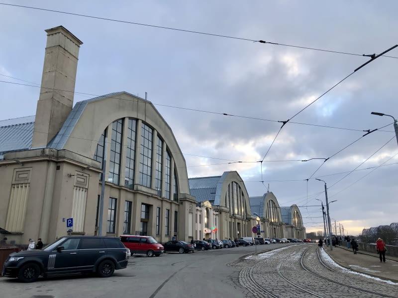 Targ Centralny w Rydze