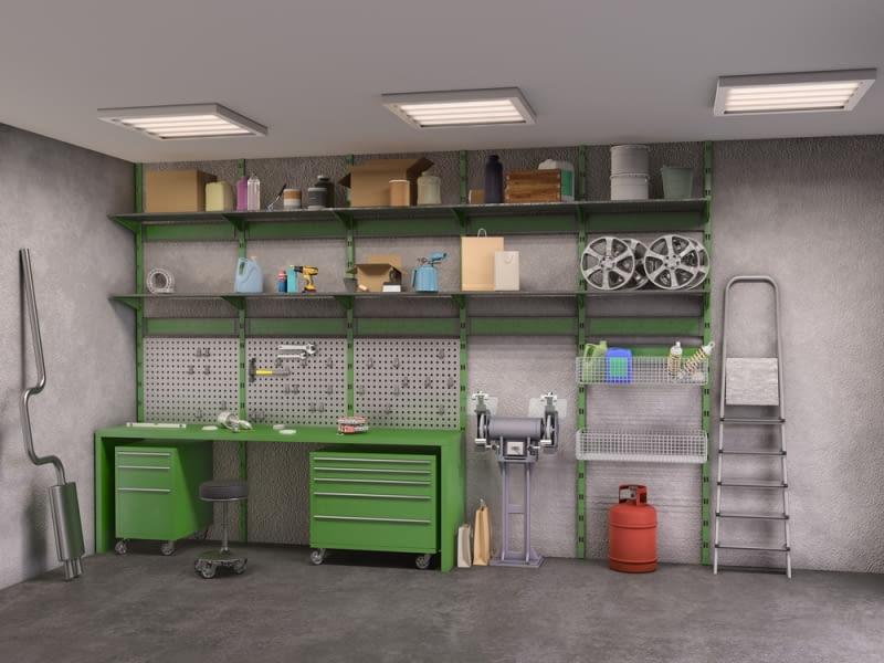 Pomysły na zaaranżowanie garażu