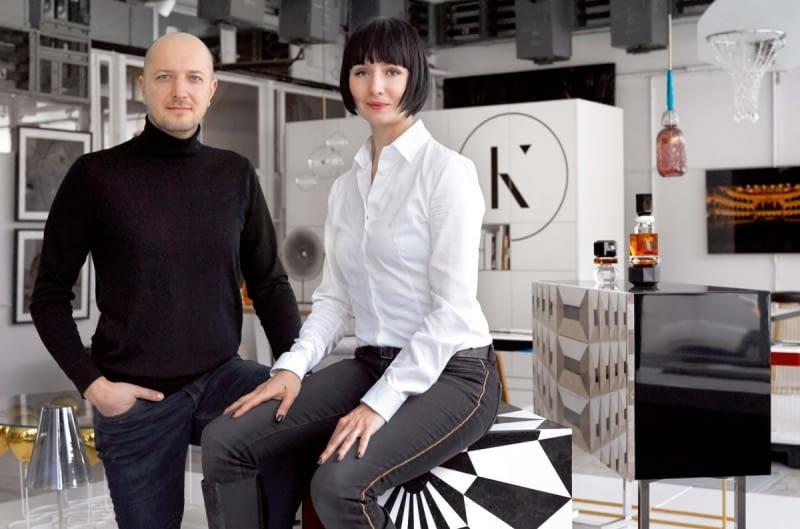 Założyciele galerii Aleksandra Pogassi-Kudlicka i Boris Kudlicka.