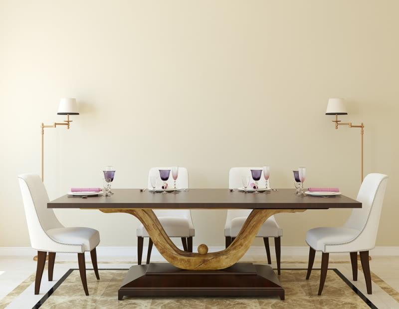 Stół z blatem laminowanym