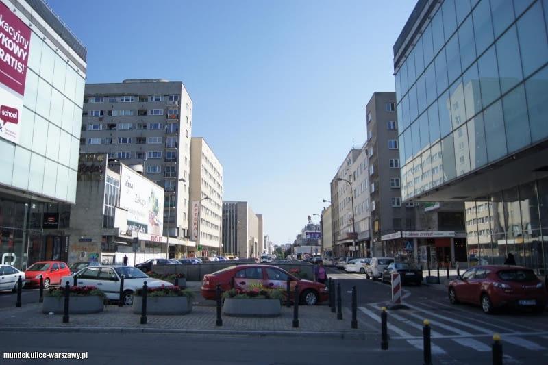 Ulica w Warszawie