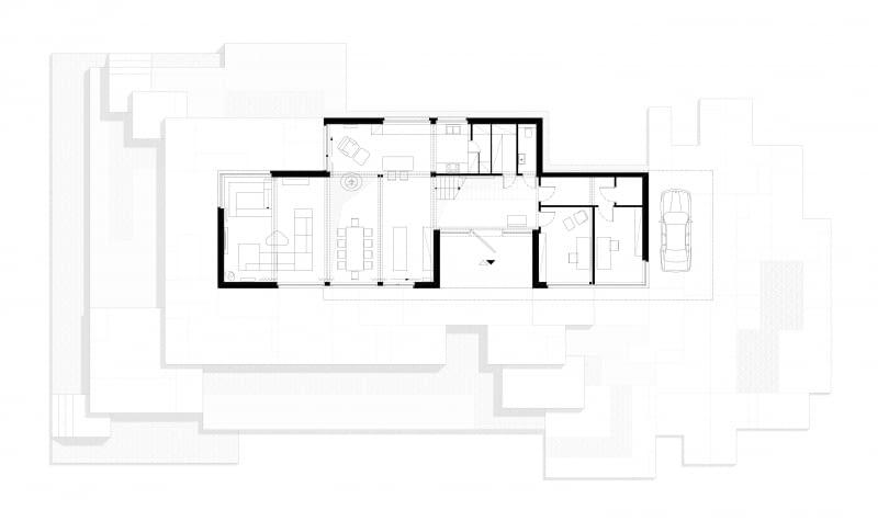 BOX_house. Rzut pater