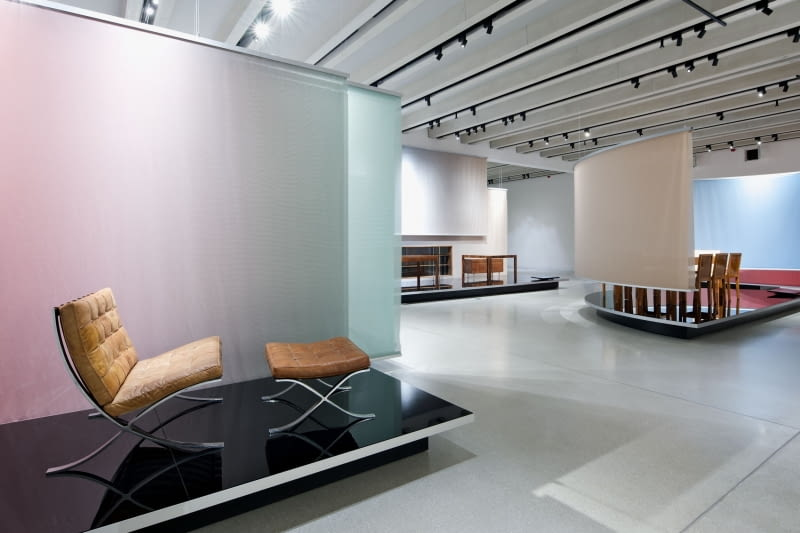 Muzeum Bauhausu w Weimarze - ekpozycja.