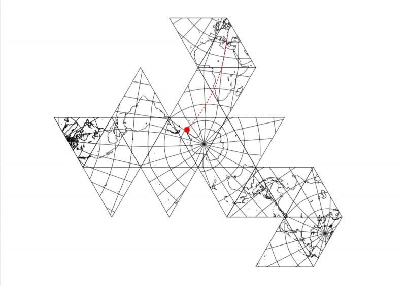 Lokalizacja Stacji Antarktycznej im. Henryka Arctowskiego na wyspie Króla Jerzego w archipelagu Szetlandów Południowych. Proj. Kuryłowicz & Associates