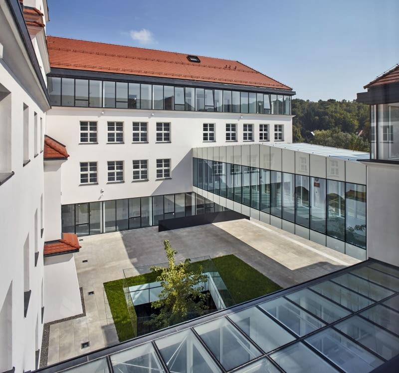 Gminny Zespół Szkół w Kazimierzu Dolnym. Proj. archistudio studniarek + pilinkiewicz