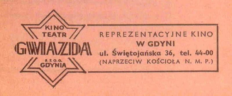 """Kino powstało w 1938 roku z inicjatywy inżyniera Józefa Langiewicza jako kino """"Gwiazda"""""""