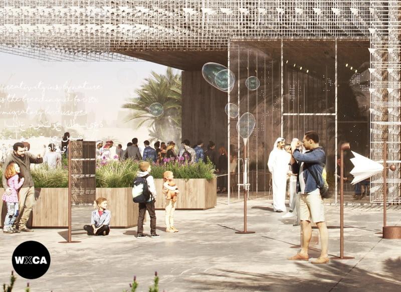 Polski Pawilon na EXPO 2020 w Dubaju. Proj. WXCA