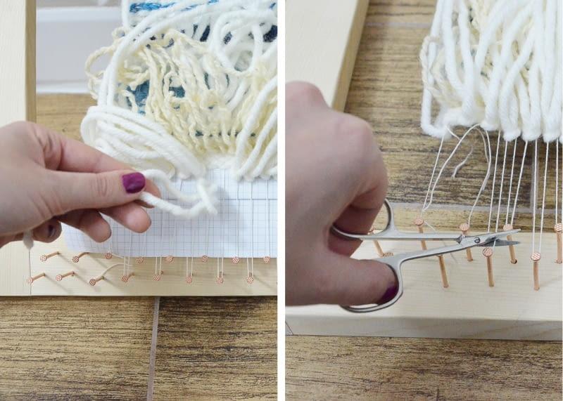 Kurs tkania kilimów - krok po kroku
