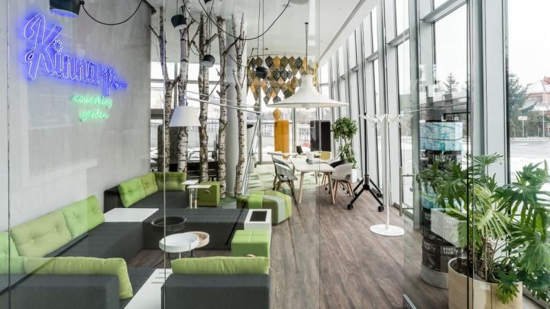 Showroom Kinnarps w Krakowie