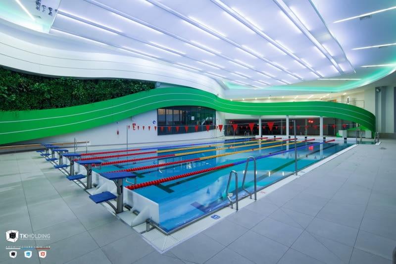Wodny Park Tychy - basen sportowy.