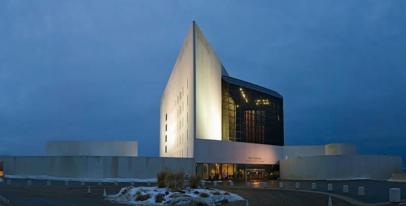 Biblioteka Johna F. Kennedy'ego w Bostonie. Proj. I.M.Pei