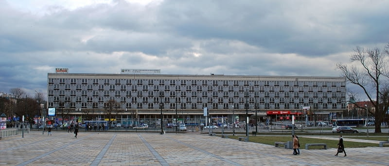 Hotel Cracovia w Krakowie.