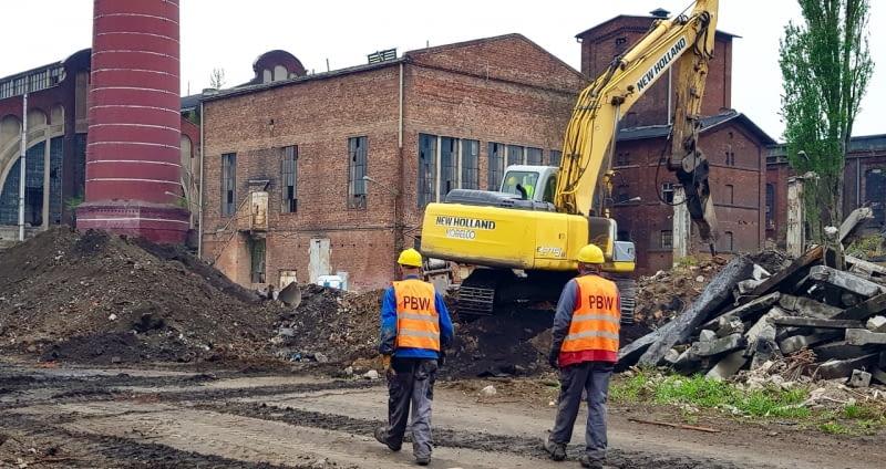 Ruszyła budowa Fuzji - nowa inwestycja Echo Investment na terenie dawnej fabryki Scheiblera w Łodzi.