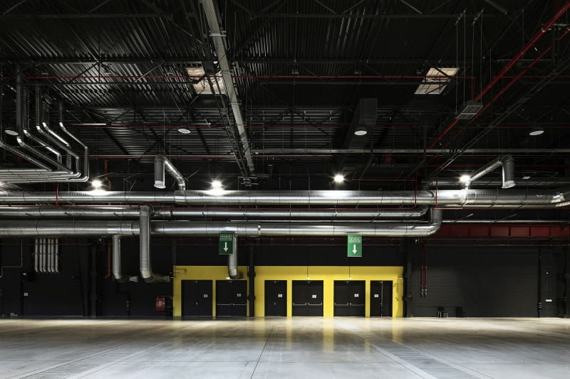Global EXPO - Centrum Targowo-Kongresowe w dawnej fabryce FSO. Proj. Tremend