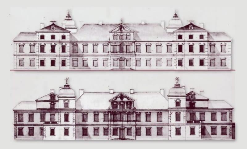 Pałac J. A. Morsztyna w Warszawie proj. G. B. Gisleniego