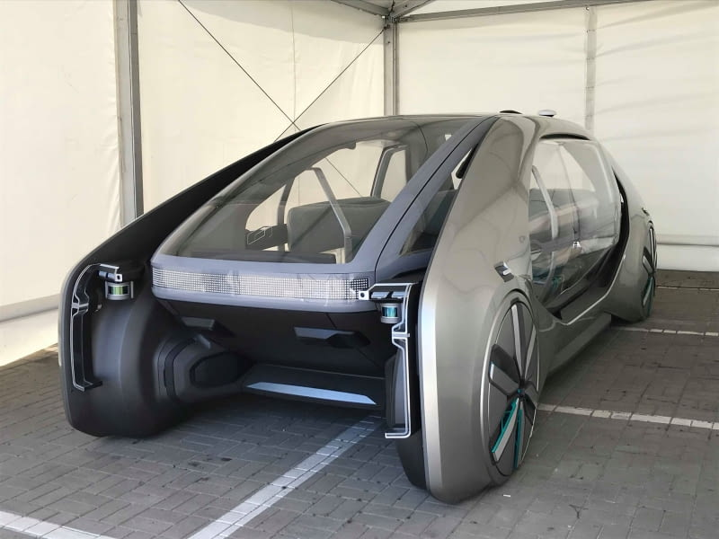 Prototyp pojazdu autonomicznego Renault EZ-GO.