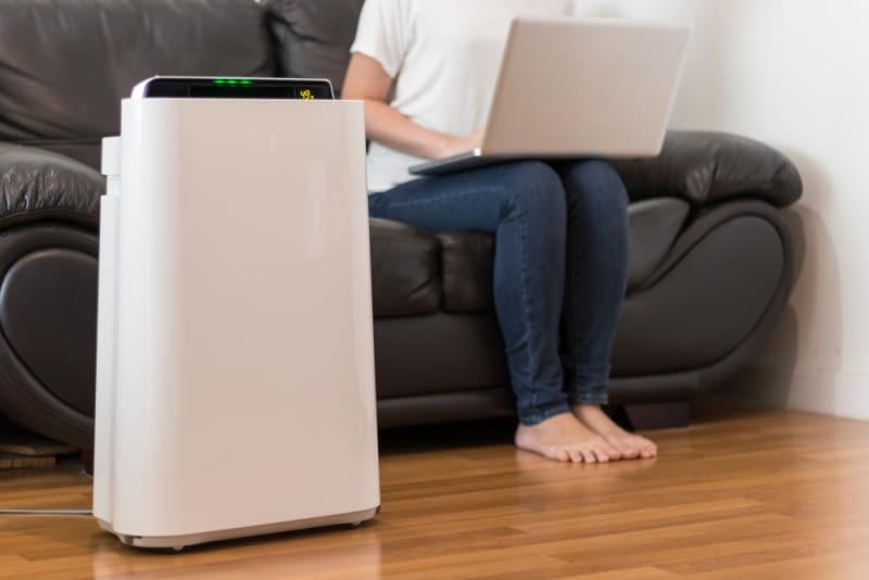 Innym, równie korzystnym rozwiązaniem jest wyposażenie się w oczyszczacz powietrza z funkcją chłodzenia.