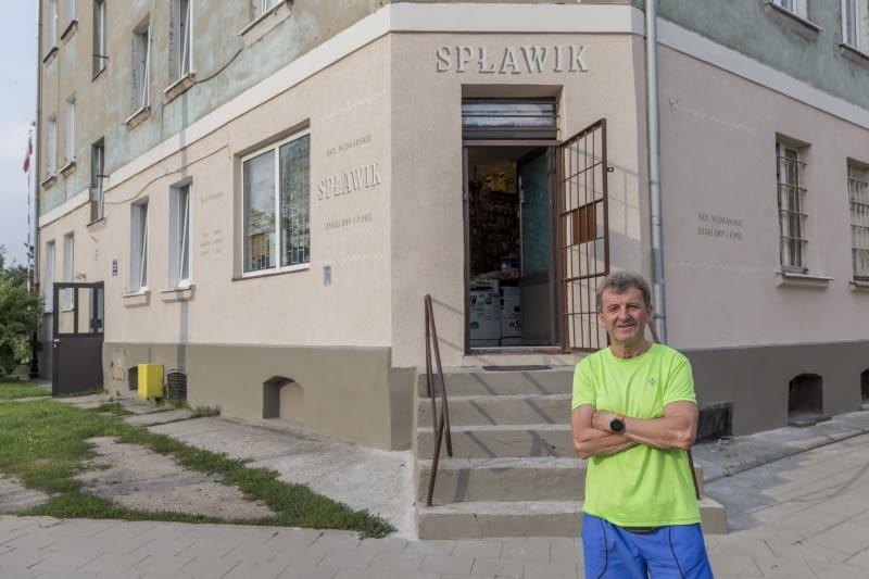 """Sklep wędkarski """"Spławik"""" w Elblągu"""