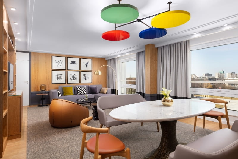 Hotel Sofitel Warsaw Victoria - Apartament Opera. Salon.