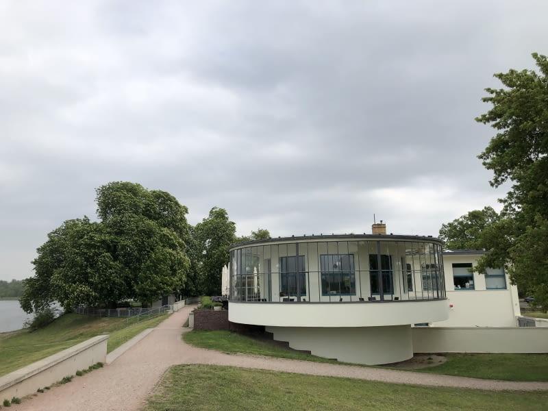 Restauracja Kornhaus w Dessau. Proj. Carl Fielger