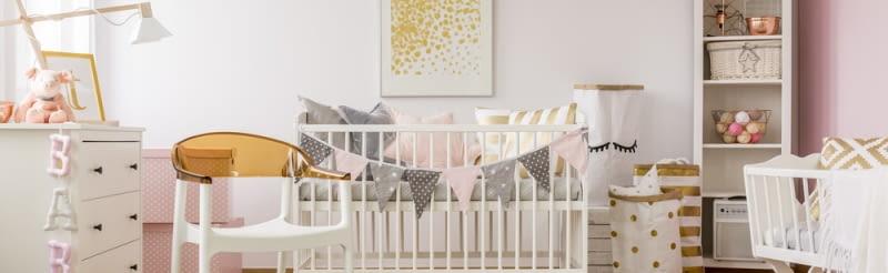 Aranżacja pokoju dla niemowlaka