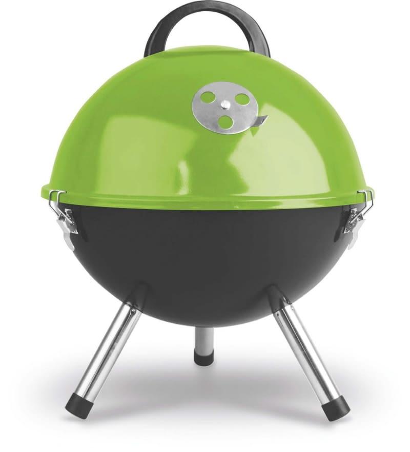Z pokrywą - warunkiem koniecznym grillowania metodą pośrednią - można kupić nieduży, przenośny grill