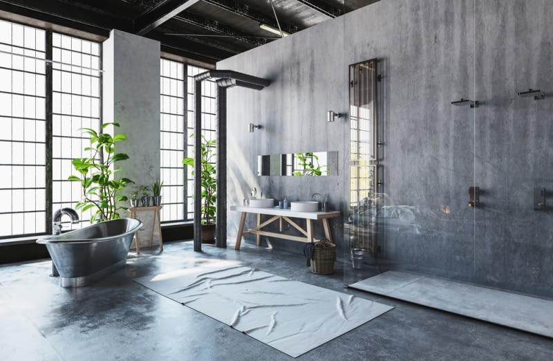 Styl industrialny: aranżacje nawiązujące do dawnych loftów